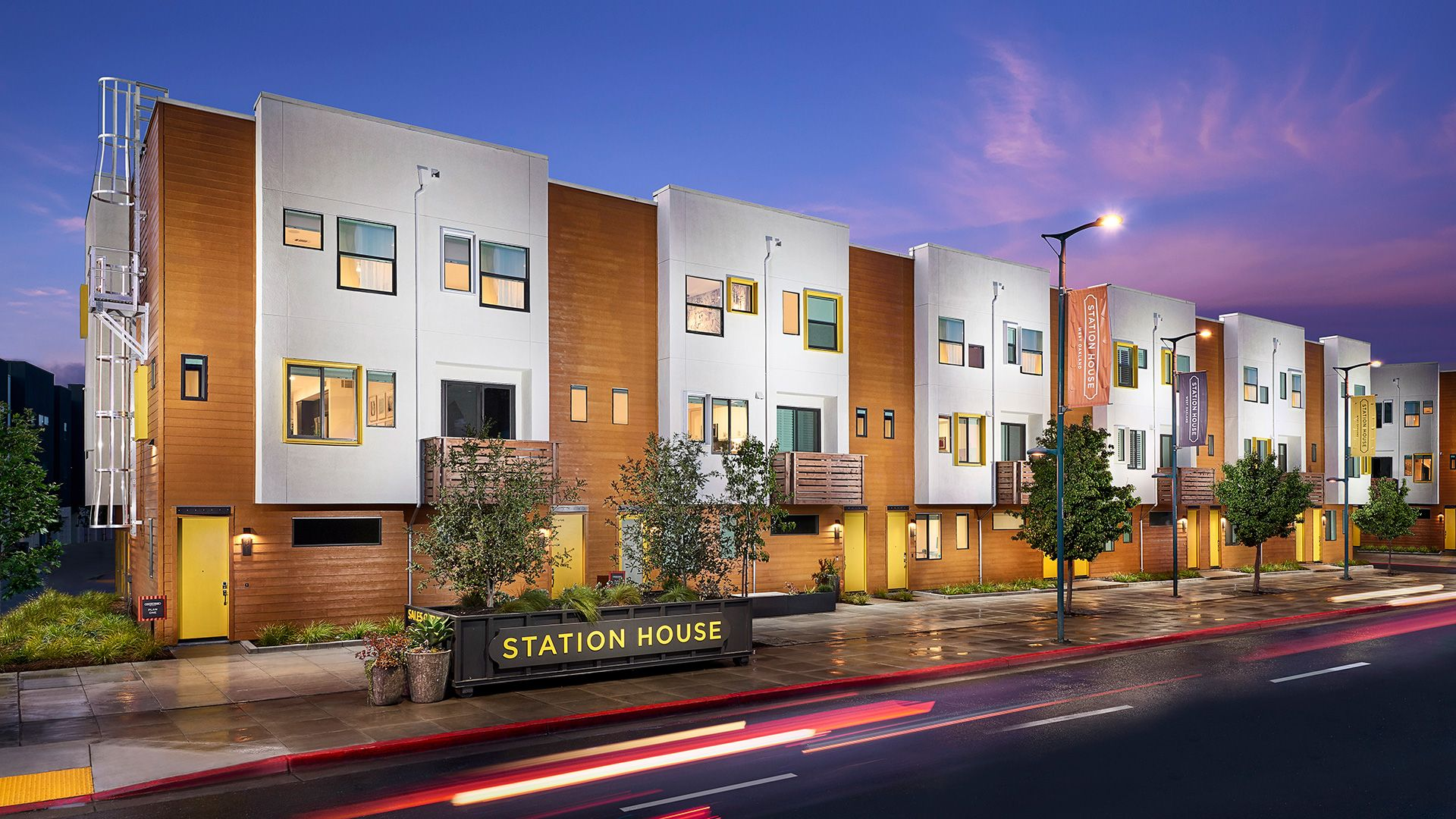 NEW HOMES Station House West Oakland